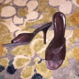 Brown Aldo Heels